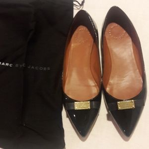 Marc Jacob patent leather flats